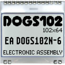 EA DOGS102N-6 - ELECTRONIC ASSEMBLY