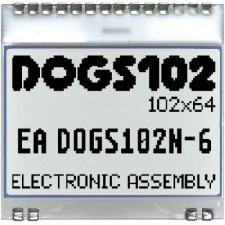 EA DOGS102W-6 - ELECTRONIC ASSEMBLY